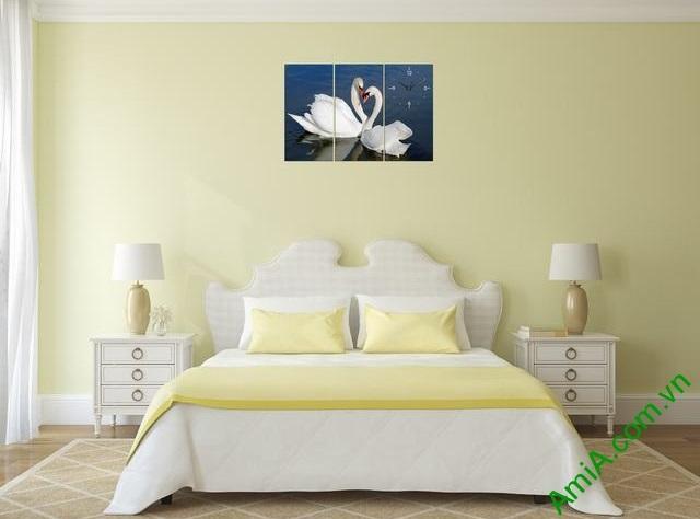 Tranh trang trí phòng ngủ