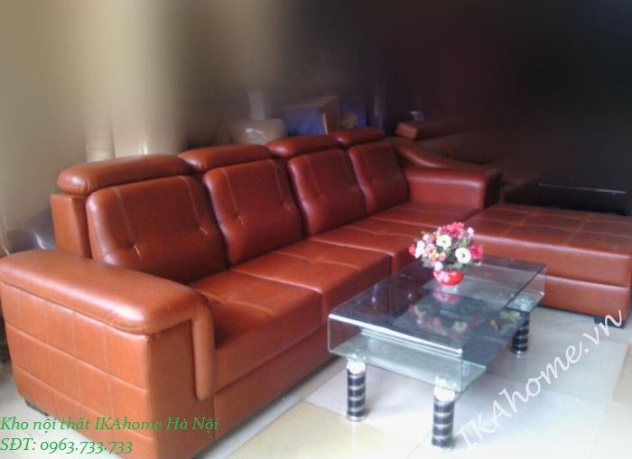 bố trí sofa góc cho phòng khách