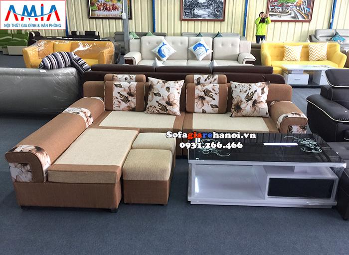 Hình ảnh Ghế sofa nỉ đẹp giá rẻ Hà Nội cho phòng khách hiện đại