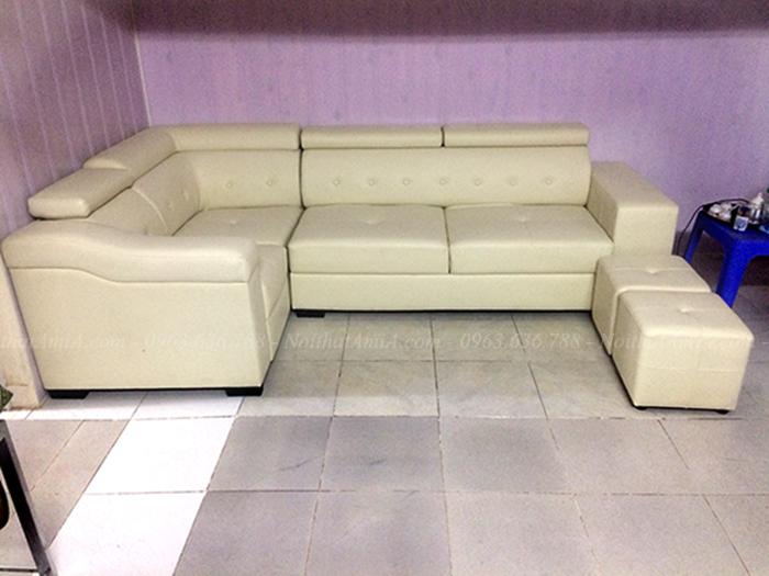 Hình ảnh Bộ ghế sofa góc đẹp hiện đại và sang trọng