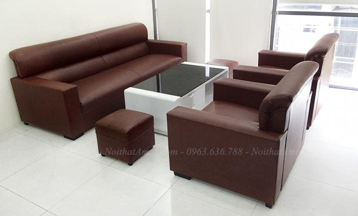 Hình ảnh Bộ ghế sofa phòng làm việc đẹp hiện đại và sang trọng