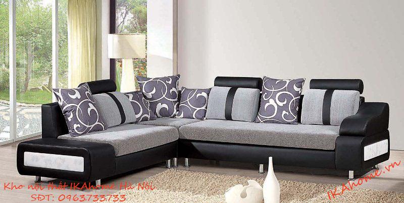 Chọn kiểu dáng và màu sắc cho ghế sofa nỉ phòng khách