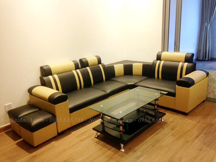 Hình ảnh Mẫu ghế sofa đẹp giá rẻ tại Hà Nội AmiA SFD026