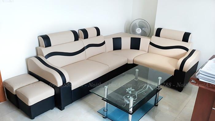 Hình ảnh Mẫu ghế sofa đẹp giá rẻ tại phòng khách nhà khách hàng