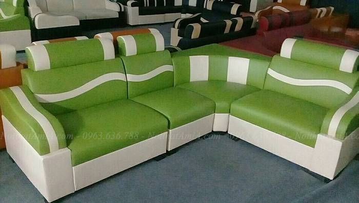 Hình ảnh Mẫu ghế sofa đẹp rẻ Hà Nội tại Tổng kho Nội thất AmiA
