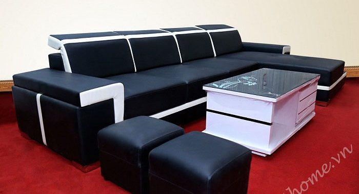 Chọn sofa nguyên bộ cho phòng khách rộng
