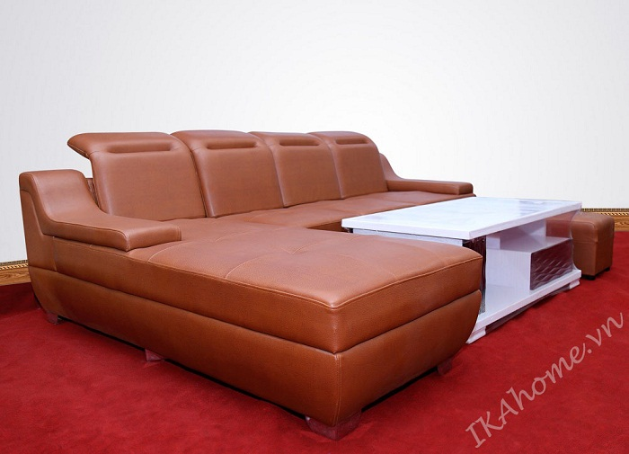 Mau sofa da cleo cao cap hien dai trang tri phong khach thoi thuong