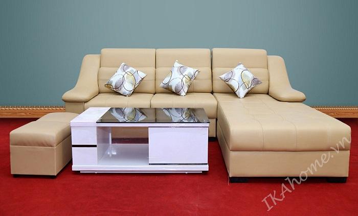 mau sofa da phong khach cuc chat