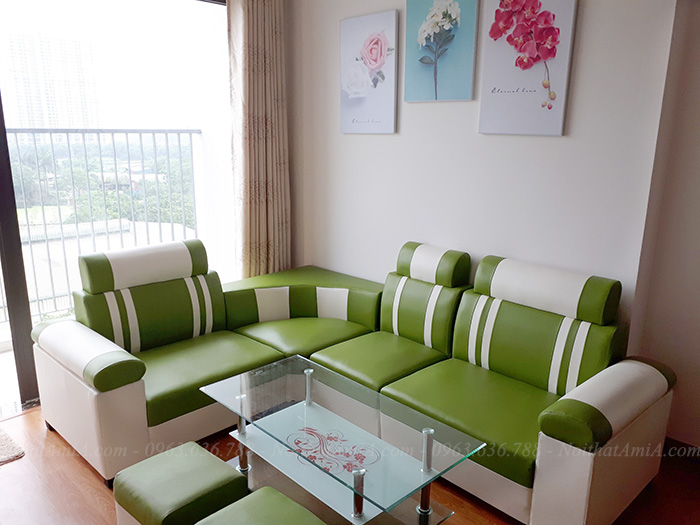 Hình ảnh Mẫu sofa đẹp giá rẻ hiện đại AmiA SFD080