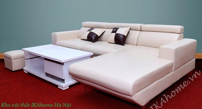 Bán sofa giá rẻ kê phòng khách chung cư hiện đại
