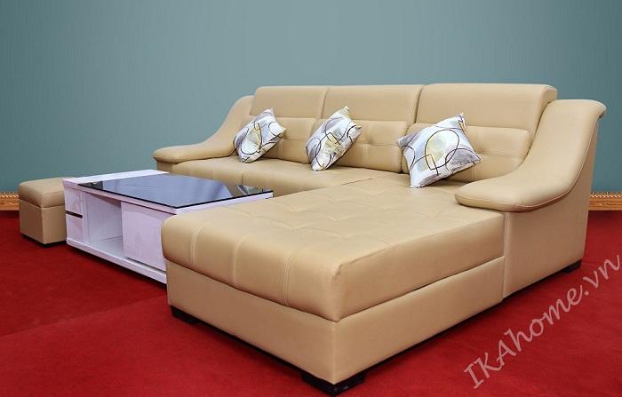 sofa da phong khach hien dai tinh te