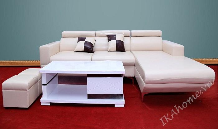 sofa da phong khach tinh te lich lam