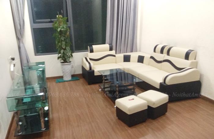 Hình ảnh Sofa đẹp giá rẻ chụp tại nhà khách hàng