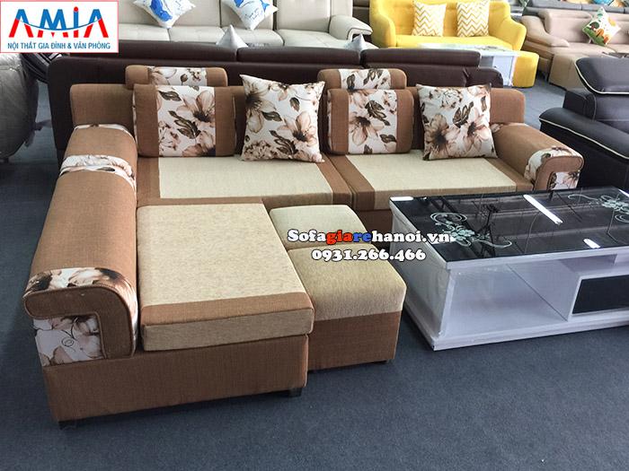 Hình ảnh Ghế sofa nỉ phòng khách đẹp hiện đại tại Hà Nội