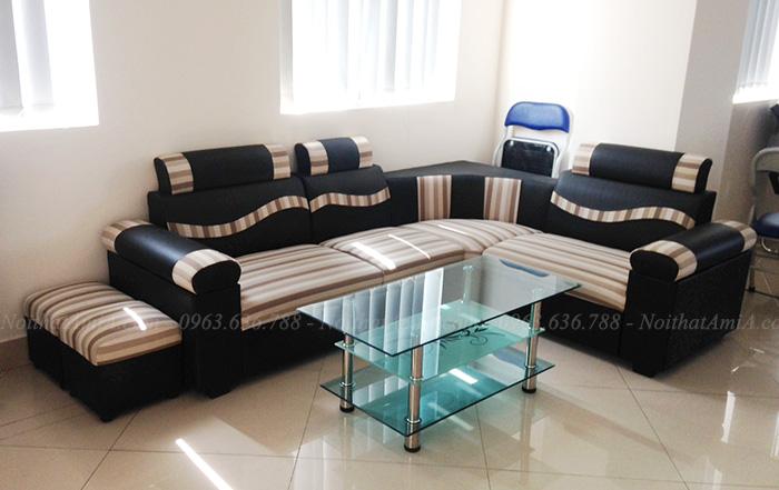 Hình ảnh Mẫu sofa rẻ đẹp Hà Nội bài trí trong nhà khách hàng
