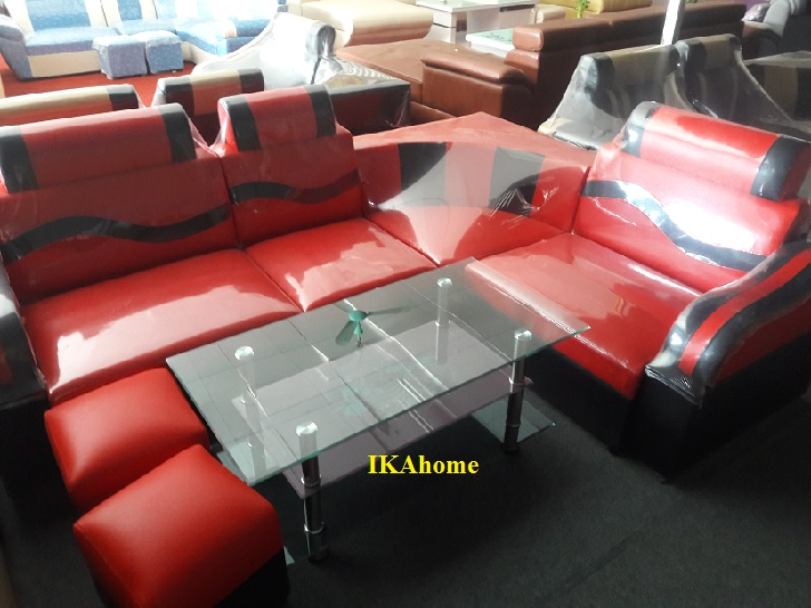 Sofa giá rẻ mầu đỏ