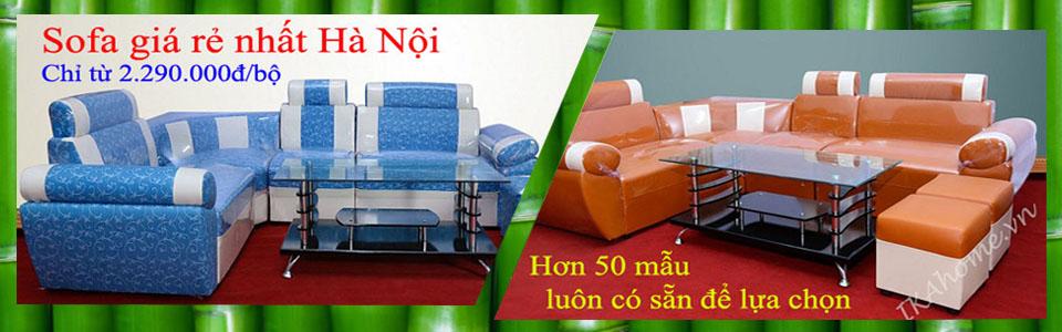 Bán ghế sofa giá rẻ tại Hà Nội