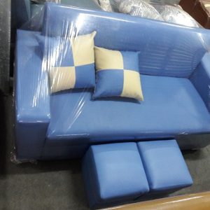 Sofa văng cỡ nhỏ mầu xanh dương