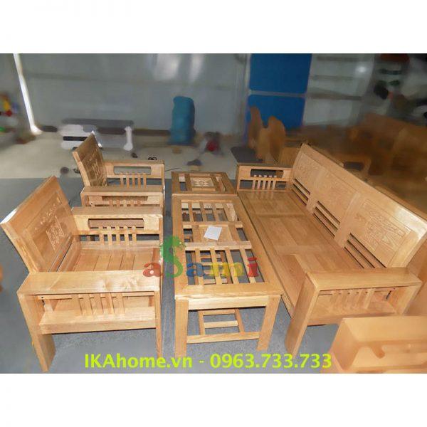 Hinh anh dai dien sofa go phong khach sang trong IKA SFG 012