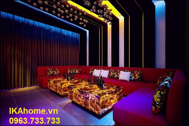 Hình ảnh ghế sofa karaoke đẹp giá rẻ tại Hà Nội