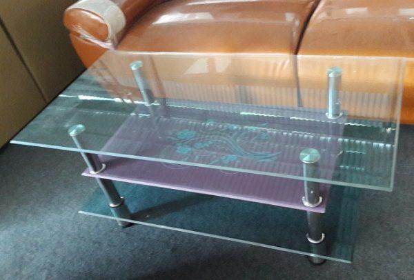 Bàn tranh sofa kính 3 tầng giá bán rẻ nhất tại Hà Nội