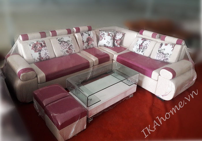 Hình ảnh mẫu sản phẩm sofa nỉ giá rẻ tại Cầu Giấy, Hà Nội