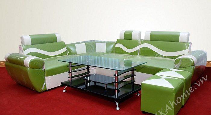 Hình ảnh cho vộ ghế sofa da giá cực rẻ cho phòng khách gia đình