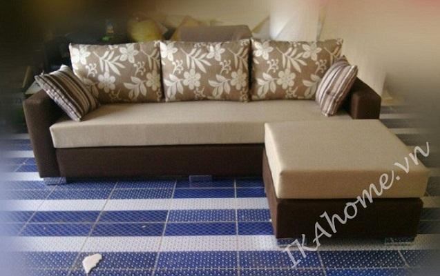 Hình ảnh cho mẫu sofa nỉ giá rẻ tại Cầu Giấy cho phòng khách với kiểu dáng hiện đại