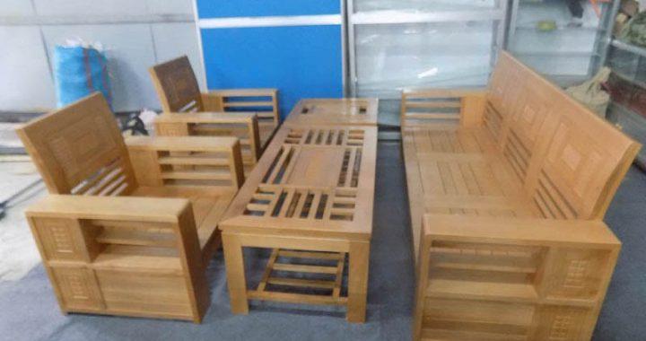 Hình ảnh mua bàn ghế sofa gỗ giá rẻ phòng khách ở đâu hà nội