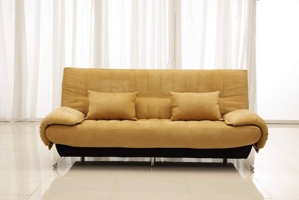 Hình ảnh mẫu sofa văng mini giá rẻ Hà Nội cho phòng khách hiện đại