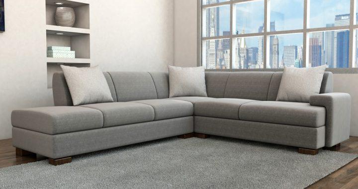 Hình ảnh cho mẫu sofa nỉ giá rẻ tại Hà Nội được làm từ xưởng Asami