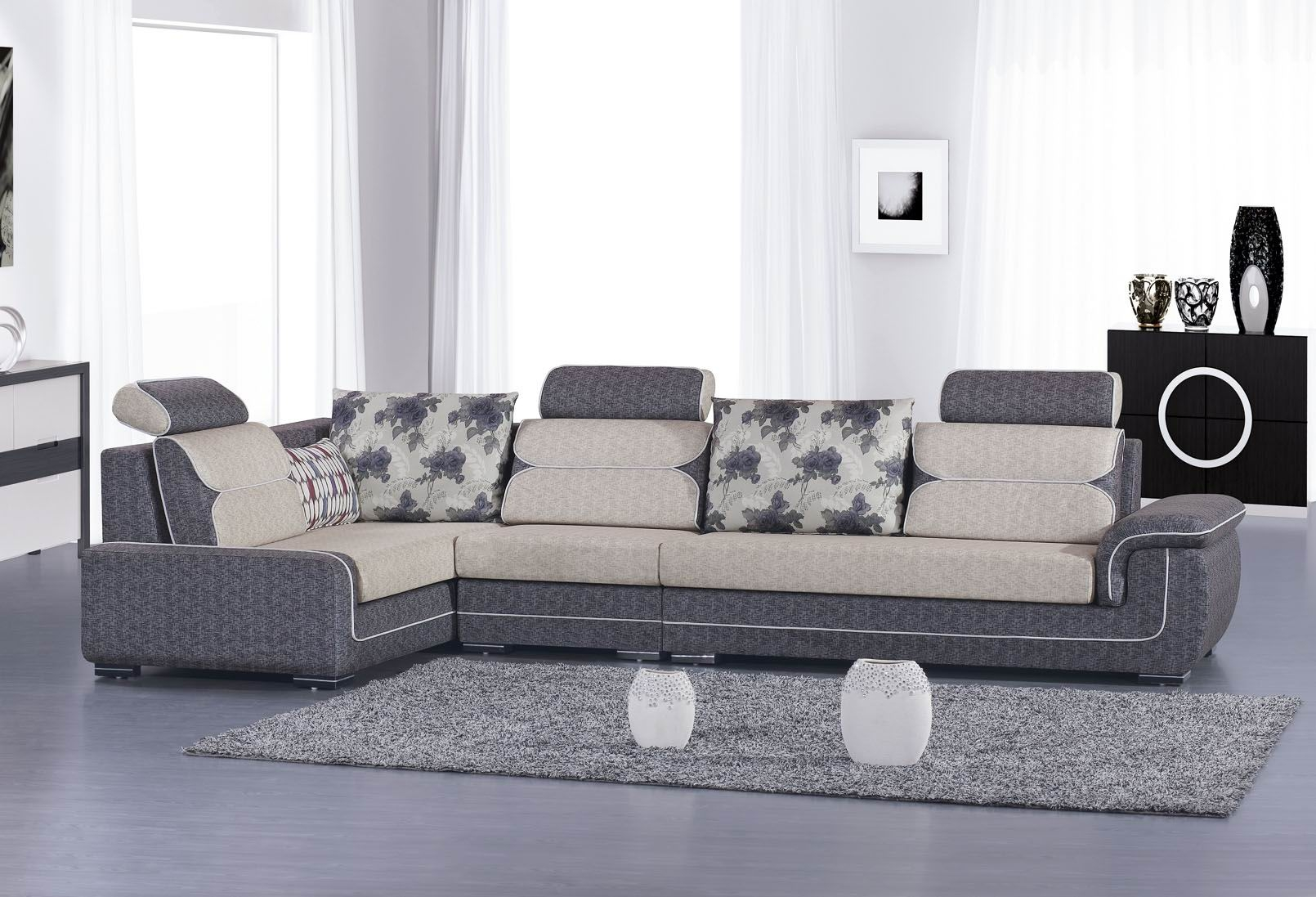 Hình ảnh cho mẫu ghế sofa phòng khách đẹp được đóng tại Nội thất Asami