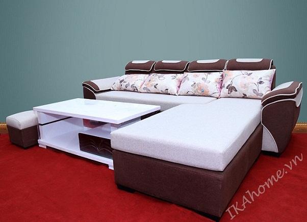 Hình ảnh cho mẫu sofa giá rẻ Hà Nội được trưng bày tại showroom Nội thất Asami