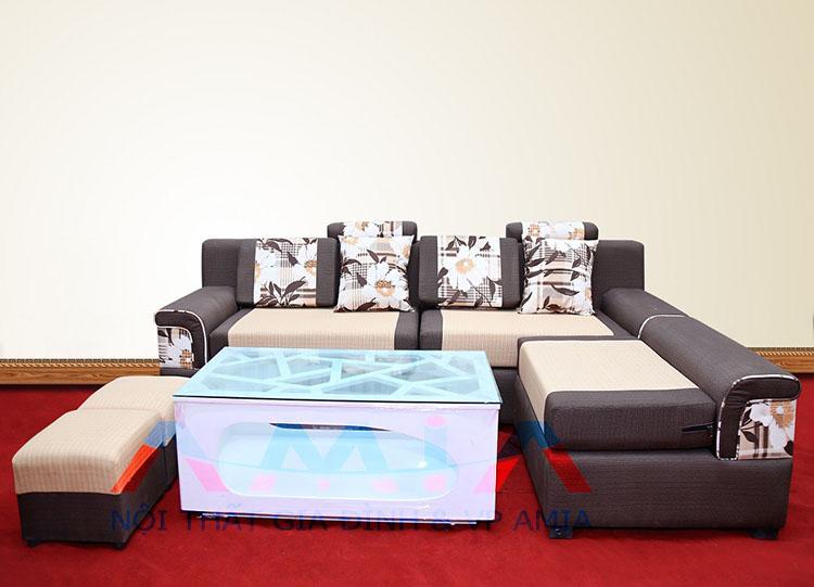 Hình ảnh cho mẫu bàn trà sofa được phối hợp hài hòa cùng với mẫu ghế sofa đẹp