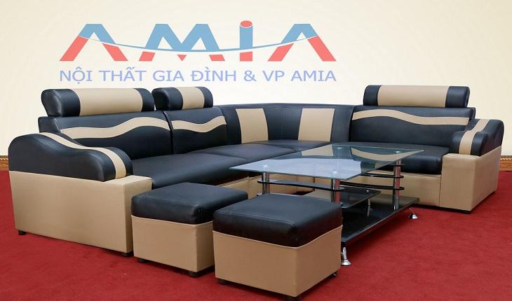 Hình ảnh cho mẫu sản phẩm sofa giá rẻ dưới 5 triệu đồng tại Nội thất AmiA