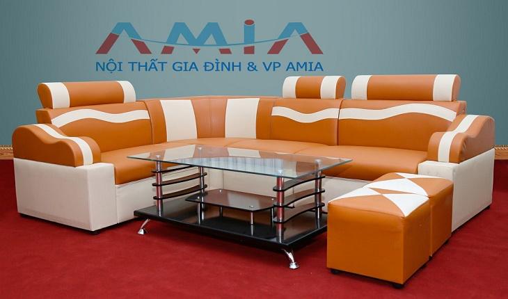Hình ảnh mẫu sản phẩm ghế sofa giá rẻ dưới 5 triệu đồng tại Nội thất AmiA