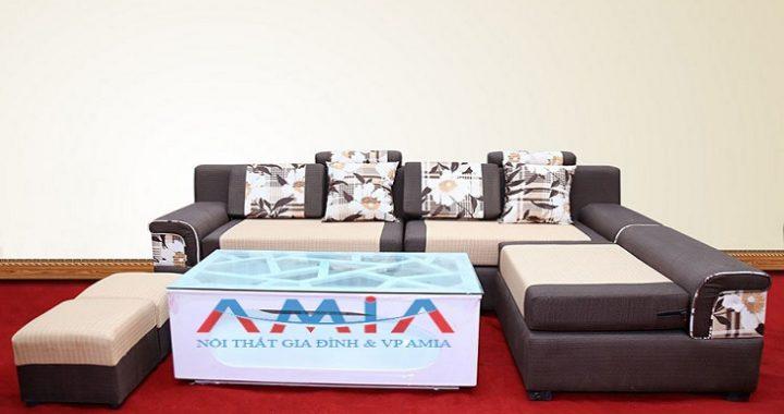 Hình ảnh cho tổng kho sofa góc nỉ đẹp giá rẻ - Nội thất AmiA