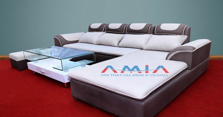 Hình ảnh cho mMẫu sản phẩm bàn ghế sofa phòng khách giá rẻ tại Nội thất AmiA