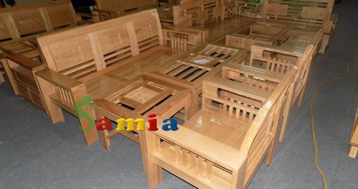Hình ảnh cho mẫu sản phẩm sofa gỗ đẹp hiện đại được cung cấp bởi Nội thất AmiA
