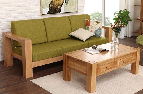Hình ảnh cho bộ bàn ghế gỗ phòng khách giá rẻ tại Nội thất AmiA