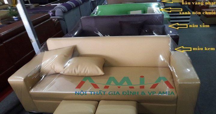 Hình ảnh các mẫu sofa văng đẹp giá rẻ tại Tổng kho sofa văng đẹp AmiA Hà Nội