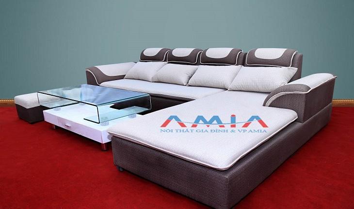 Hình ảnh mẫu sofa nỉ giá rẻ tại Hà Nội