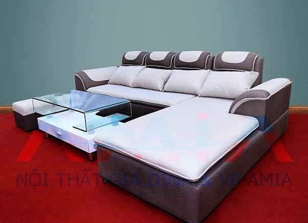 Hình ảnh cho mẫu sofa nỉ - Sofa phòng khách giá rẻ từ 7 triệu đến 9