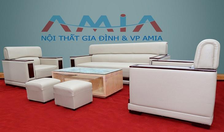 Hình ảnh cho bộ sofa phòng làm việc giá rẻ tại Hà Nội với phong cách thiết kế hiện đại, sang trọng và tinh tế