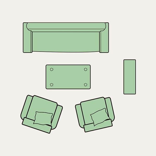 Hình ảnh cho cách bài trí bộ sofa phòng làm việc hài hòa cho không gian căn phòng