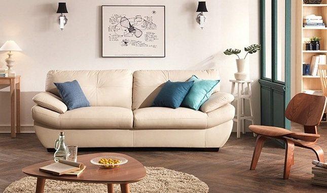 Hình ảnh cho mộ bàn ghế sofa phòng khách nhỏ hiện đại, trẻ trung