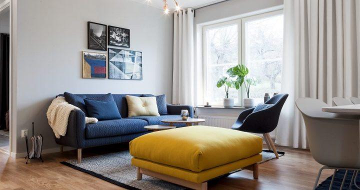 Hình ảnh cho bộ sofa phòng khách nhỏ giá rẻ với thiết kế dạng văng mini