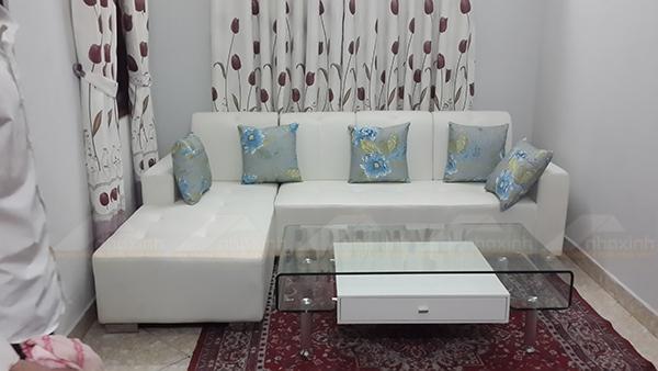 Hình ảnh cho mẫu sofa phòng khách nhỏ cho không gian căn phòng nhỏ