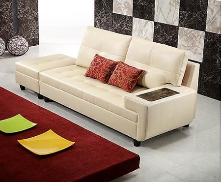Hình ảnh cho mẫu sofa phòng khách nhỏ với dạng văng mini hiện đại