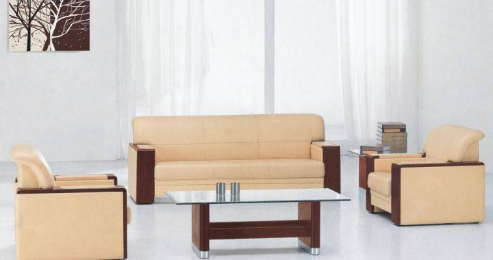 Hình ảnh cho bộ sofa phòng giám đốc với phong cách thiết kế hiện đại, sang trọng